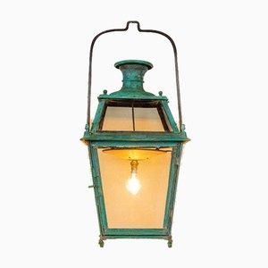 19th Century Verdigris Lantern