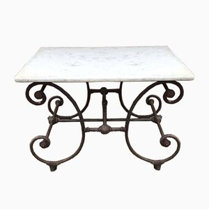 Patisserie Table with Original Marble Top
