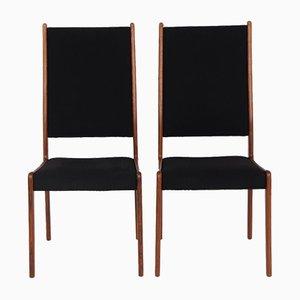 Dänische Palisander Esszimmerstühle von MK, 1960er, 2er Set