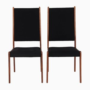 Danish Rosewood Dining Chairs from MK, 1960s, Set of 2