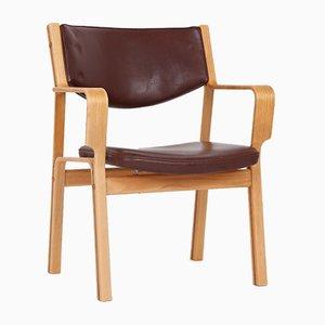 Dänischer Armlehnstuhl von Hans J. Wegner für Johannes Hansen, 1960er