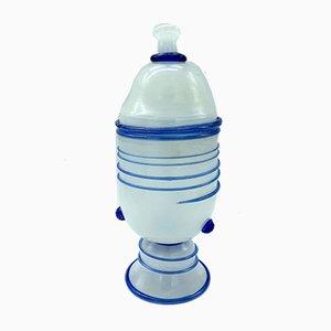 Murano Glass Lidded Vase, 1960s