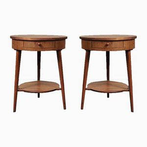 Danish Teak Nightstands, 1960s, Set of 2