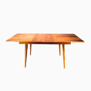 Vintage Walnut Dining Table from Tatra, 1960s