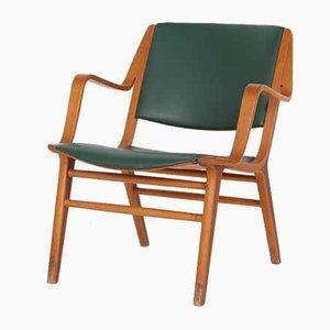 Mid-Century Lounge Chair by Peter Hvidt & Orla Mølgaard-Nielsen for Fritz Hansen, 1950s