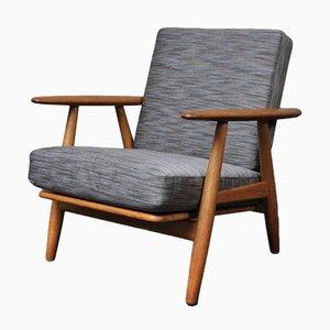 Model GE240 Cigar Lounge Chair by Hans J. Wegner for Getama, 1950s