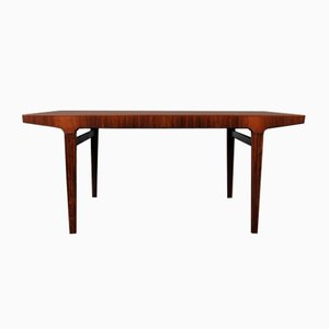 Large Mid-Century Danish Extendable Rosewood Dining Table from L. Chr. Larsen and Son, 1950s