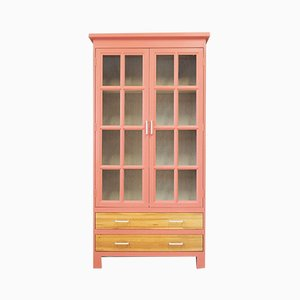 Vintage French Oak Cabinet, 1980s