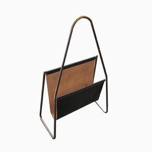 Mid-Century Magazine Rack by Carl Auböck for Werkstätte Carl Auböck, 1950s