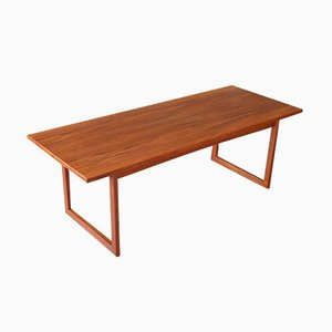 Mid-Century Danish Teak Coffee Table from Anton Kildeberg, 1960s