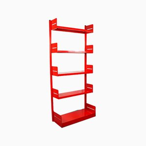 Vintage Steel Congress Bookcase from Lips Vago, 1960s