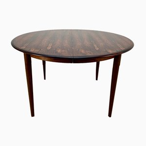 Mid-Century Rosewood Dining Table by Arne Vodder for Sibast, 1960s