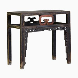 Antique Chinese Carved Shanxi Console Table