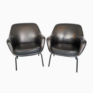 Italian Armchairs by Olli Mannermaa for Cassina, 1950s, Set of 2