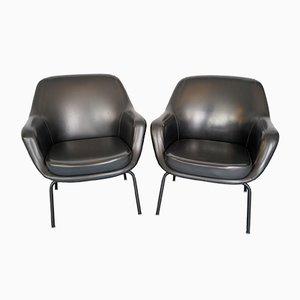 Italienische Sessel von Olli Mannermaa für Cassina, 1950er, 2er Set