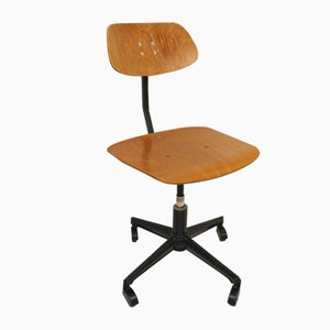 German Adjustable Architects Swivel Chair from Sedus Stoll AG, 1960s