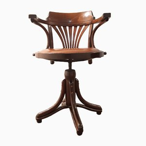 Captains Desk Chair by Michael Thonet for Ligna, 1950s