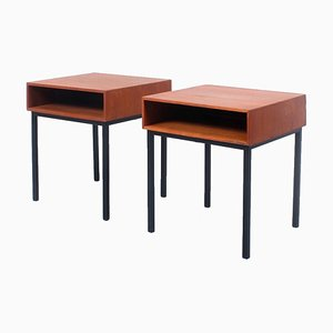 Teak Nightstands by André Cordemeyer / Dick Cordemeijer for Auping, 1960s, Set of 2