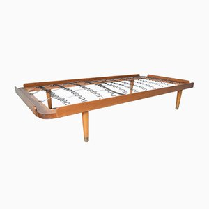 Mid-Century Danish Teak and Beech Daybed, 1950s
