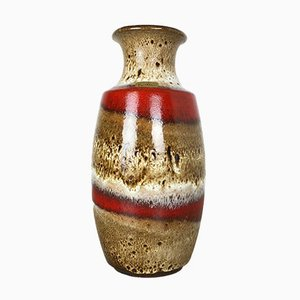 Vintage German Fat Lava Ceramic Vase by Heinz Siery for Carstens Tönnieshof, 1970s