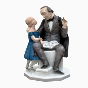 H. C. Andersen Figurine Sculpture from Bing & Grondahl, 1987