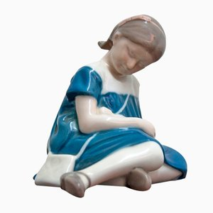 Girl Figurine from Bing & Grondahl, 1960s