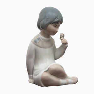 Spanische Mädchen Figur von Miquel Requena, 1960er