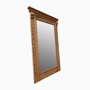 Large Oak Mirror, 1920s