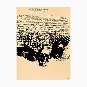 Affiche The Birds par Bronislaw Zelek, 1968