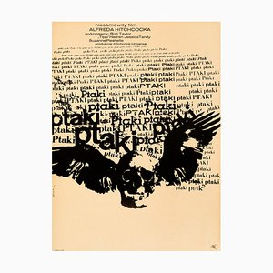 The Birds Poster by Bronislaw Zelek, 1968