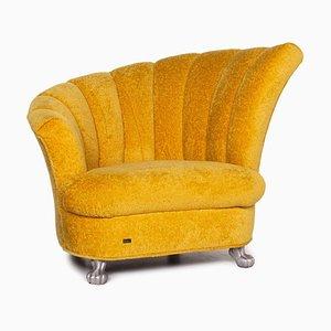 Yellow Fabric Armchair from Bretz