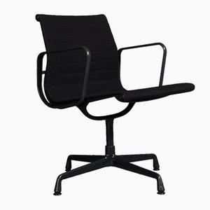 Black EA108 Chairs by Charles and Ray Eames for Vitra, 1950s, Set of 2