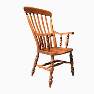 English Windsor Chair with High Back