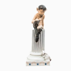 Vintage Faun Figurine from Royal Copenhagen