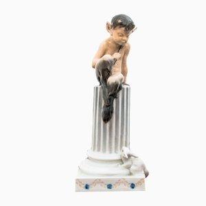Vintage Faun Figurine von Royal Copenhagen
