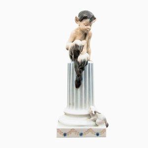 Faun Figurine von Royal Copenhagen, 1963