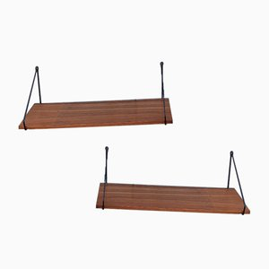 String Shelves, 1960s, Set of 2