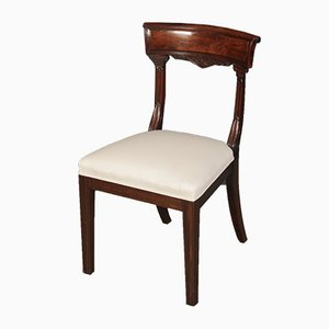 William IV Mahogany Bar Back Dining Chairs, Set of 6