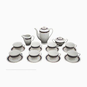 Polish Coffee Set from Ćmielów, 1980s