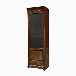 Antique Italian Solid Wood Display Cabinet, 1900s