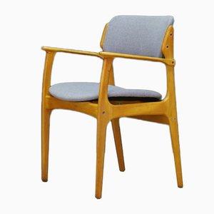 Armchair by Erik Buch for Odense Maskinsnedkeri / O.D. Møbler, 1960s