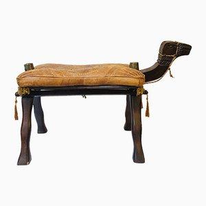Vintage Oriental Camel Stool