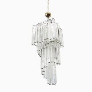 Triedri Chandelier from Venini, 1960s