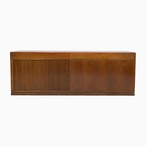 Walnut Sideboard Attributed to Angelo Mangiarotti, 1960s