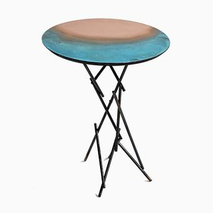 Eclipse Side Table from Dal Furlo