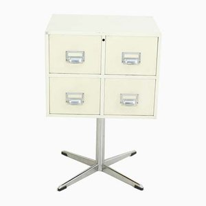 Mid-Century Metal Cube Chest of Drawers from Mauser Werke Waldeck, 1960s