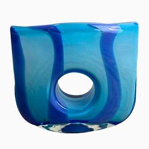 Murano Glass Layered Vase, 1960s