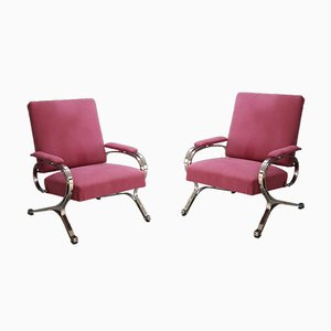 Mid-Century Model Micaela Lounge Chairs by Gianni Moscatelli for Formanova, 1970s, Set of 2