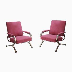 Mid-Century Model Micaela Lounge Chairs von Gianni Moscatelli für Formanova, 1970er Jahre, 2er-Set