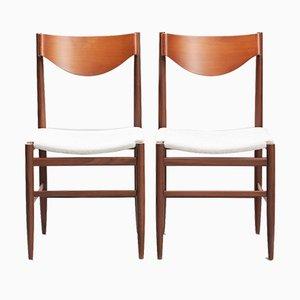 Mid-Century Esszimmerstühle von Gianfranco Frattini für Cassina, 6er Set